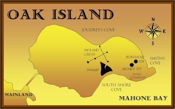 Location of Oak Island