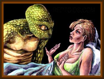 Reptilian Rape in Superstition Mountains