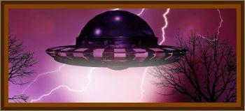 Large Mining UFO Mining Resourses On Earth