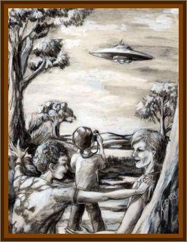 Boys Knock On Outside Of UFO