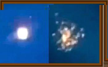 UFO Examines Weather Balloon