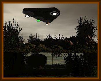 Triangle UFO Sighted At Idaho Mountain