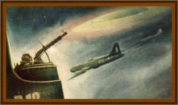 Bombers Encounter UFO Over Utah