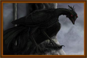 Horrible Looking Black Bird