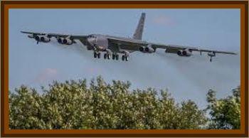 B-52 Bomber Observes UFO