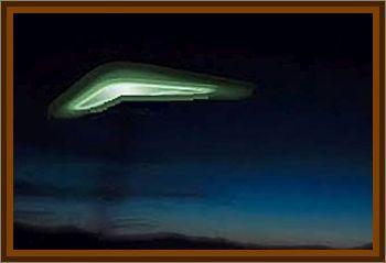 Boomerang Shaped UFO