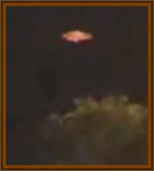 Copper Colored UFO Seen
