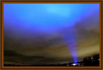 Strange Blue Light Over Wales
