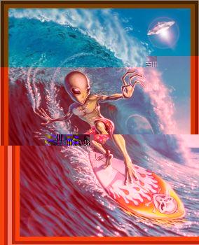 Surfing Aliens?