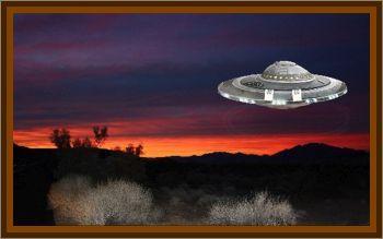 UFO Landing In West Pittsburg