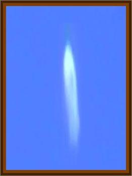 Plasma Cylinder Observed