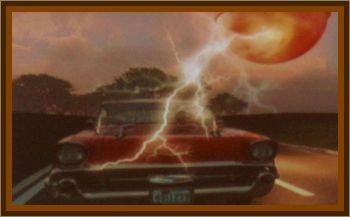 Salesman's Car Stalls During UFO Sighting