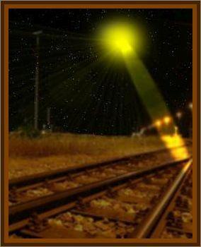 UFO Melts Hole In Railway Sleeper In Cheshire
