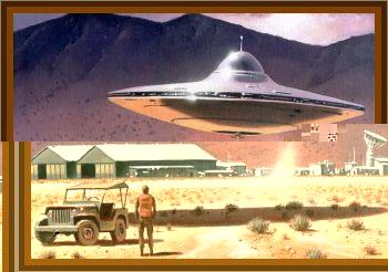 Gordon Cooper Witnesses UFO Landing