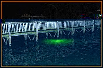 Eerie Green Glow