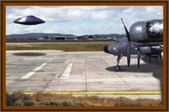Eisenhower's Close Encounter At Holloman AFB