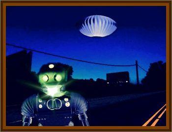 Private Security Guard Spots UFO & Entity