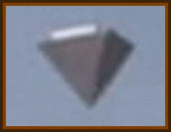 Inverted Orange Triangle