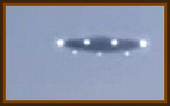 Student Spots UFO