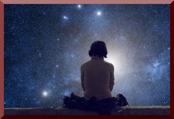 UFO Seen While Meditating