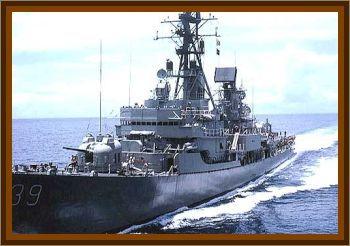 Striking Of The HMAS Hobart
