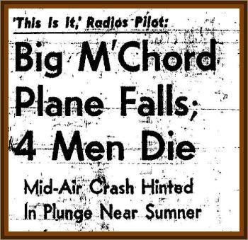 McChord Mid Air Crash