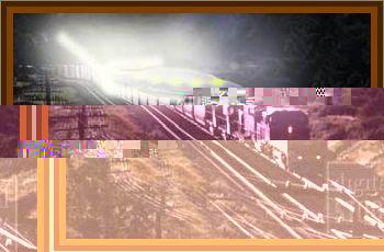 UFO Stops A Train