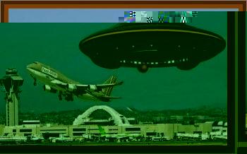 UFO Shocks Jet Passenger In Italy