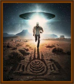 UFO Landing Navajo Nation, AZ