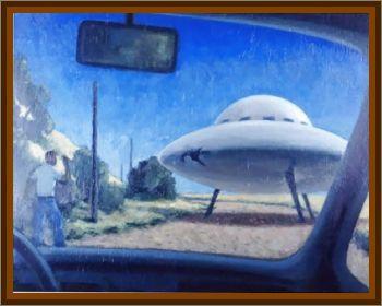UFO Stops for Repairs In Sasketchwan, Canada